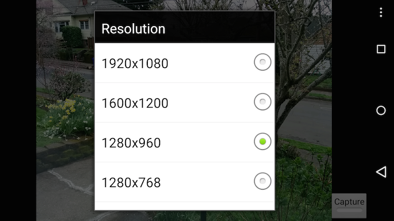 How to set Camera Resolution in Android with OpenCV - The