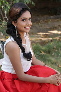 Actress Mahima Nambiar Latest Stills in White Top and Red Skirt at Kuttram 23 Movie Press Meet  0028.jpg