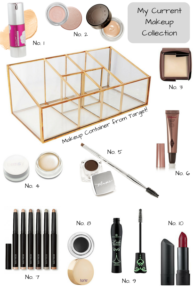 In My Minimalist Makeup Collection