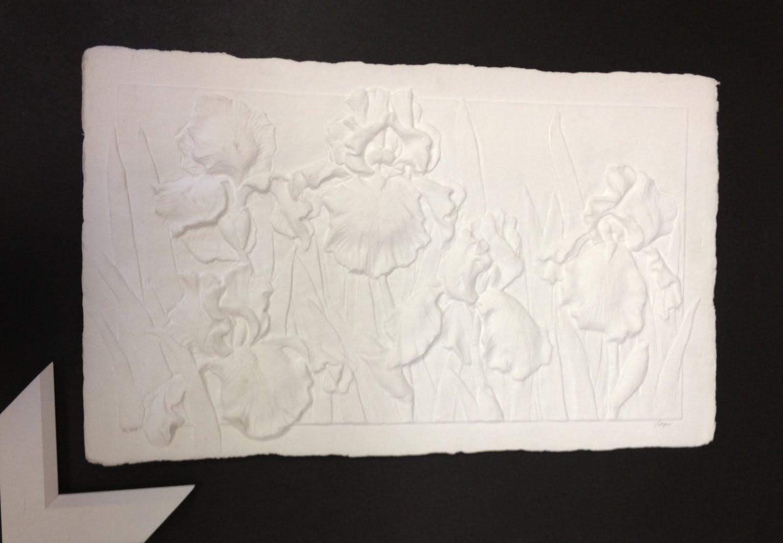 S Morantz Galleries Irisis Cast Paper