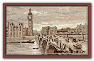 "Панна GM-1254 ""Лондон. Вестминстерский мост"""