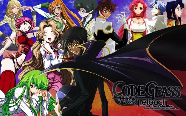 Code Geass: Hangyaku no Lelouch - Anime Action Fantasy Terbaik dan Terseru