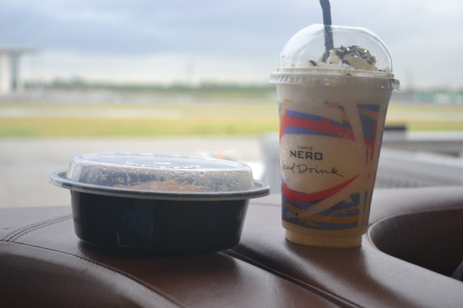 Caffe Nero Frappucino at the Airport