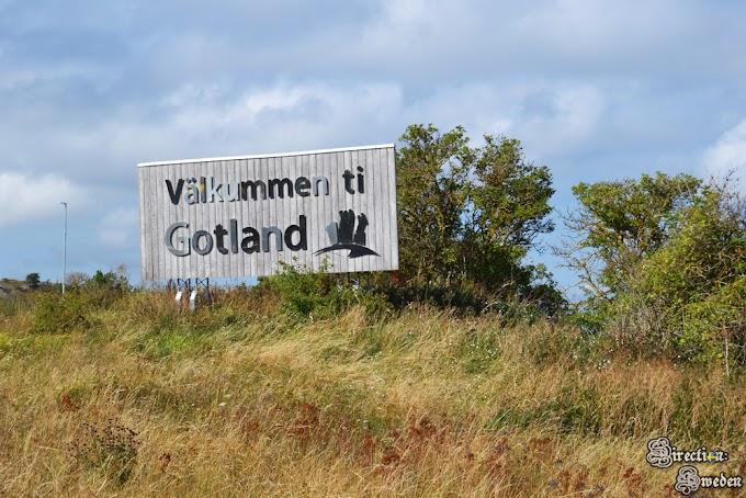Klify na Gotlandii