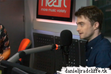 Daniel Radcliffe on Heart FM Saturday Breakfast with JK and Lucy
