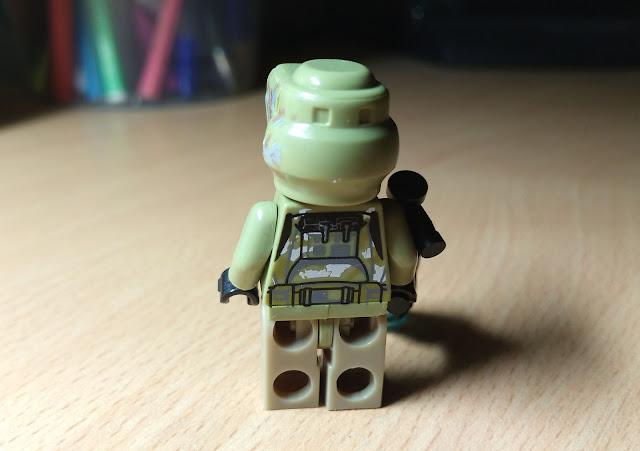 Фигурка лего клон-разведчик 41-ого элитного корпуса, битва за кашиик, купить минифигурку отдельно
