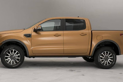 2019 Ford Ranger Dimensions