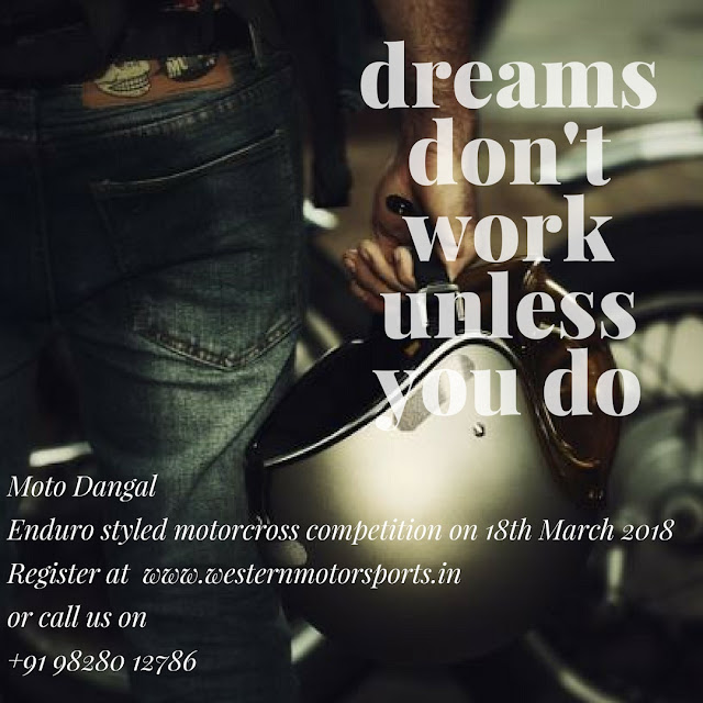 Moto Dangal - Dreams don't work unless you do