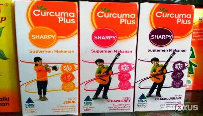 Vitamin penambah nafsu makan - Curcuma plus