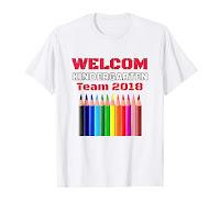 Kindergarten Team 2018 Back to School T-shirt for Men Women