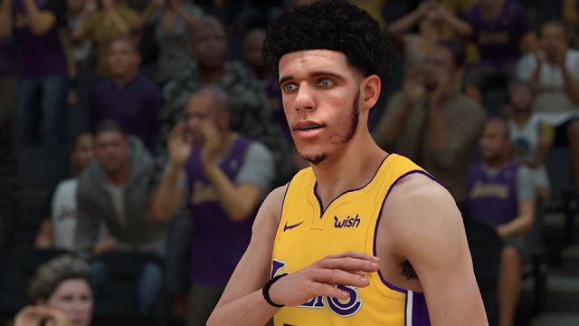 Download Lonzo Ball CF for NBA 2K18 Patches, Mods