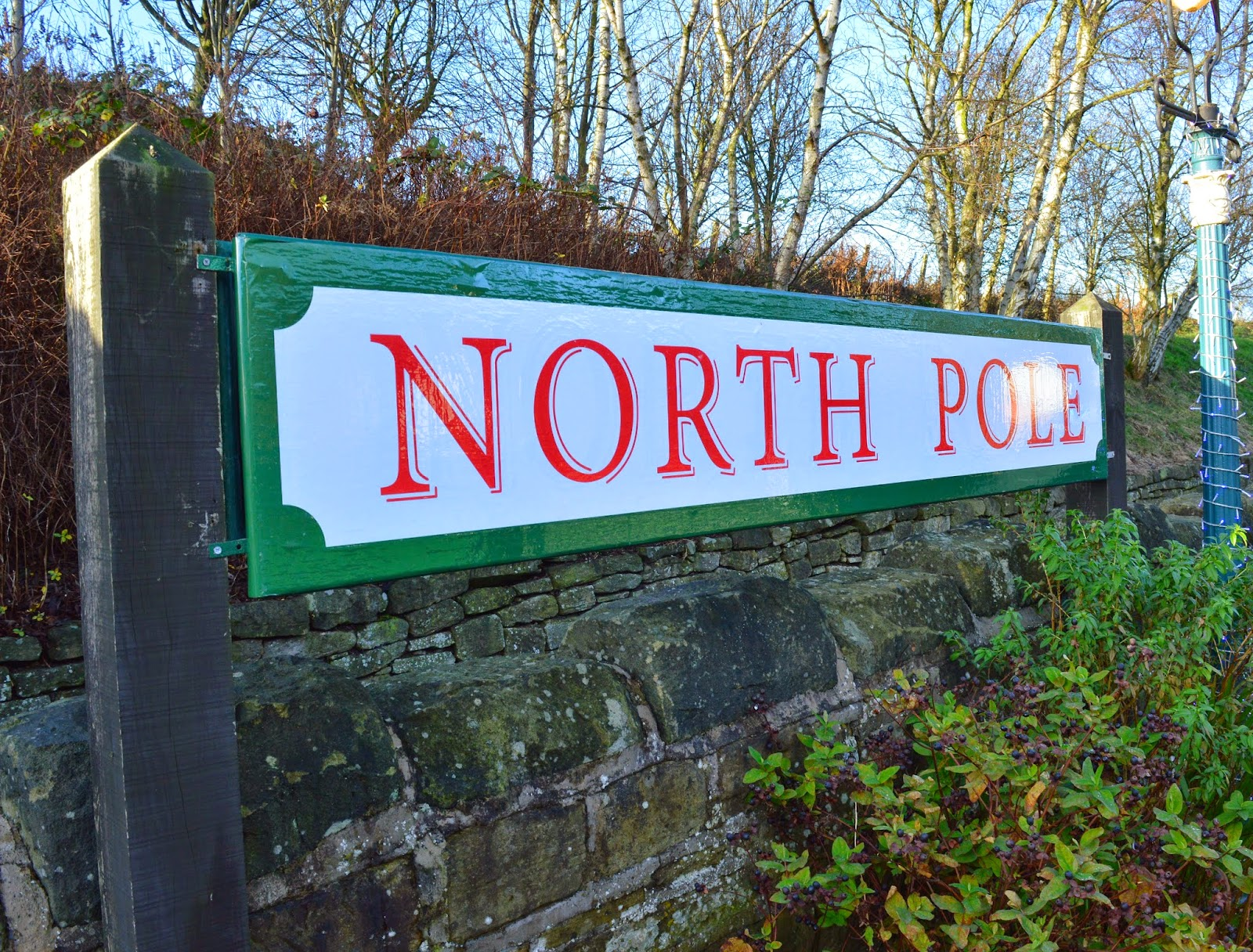 The Original North Pole Express | Tanfield Railway - A North East 'Santa Train' review  - North Pole