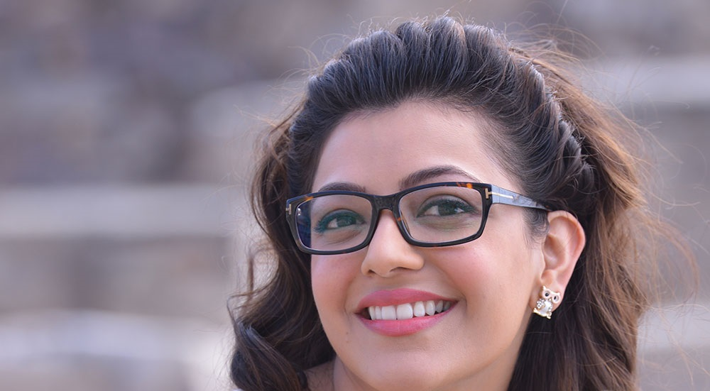 Kajal Agarwal Cute Face Close Up Photos