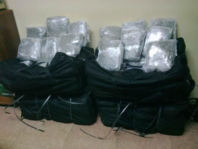 211 κιλά κάνναβης στα χέρια της Δίωξης Ναρκωτικών Ηγουμενίτσας