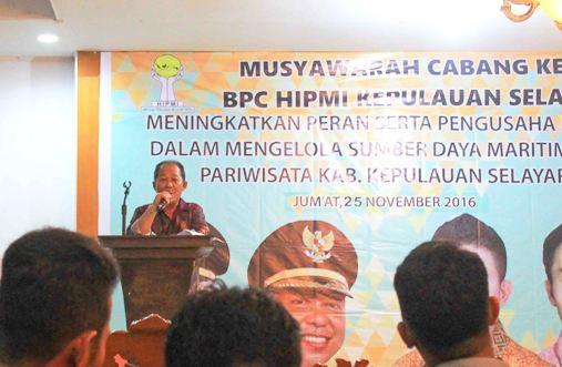 DPC, Hipmi ,Kepulauan Selayar ,Gelar Muscab III