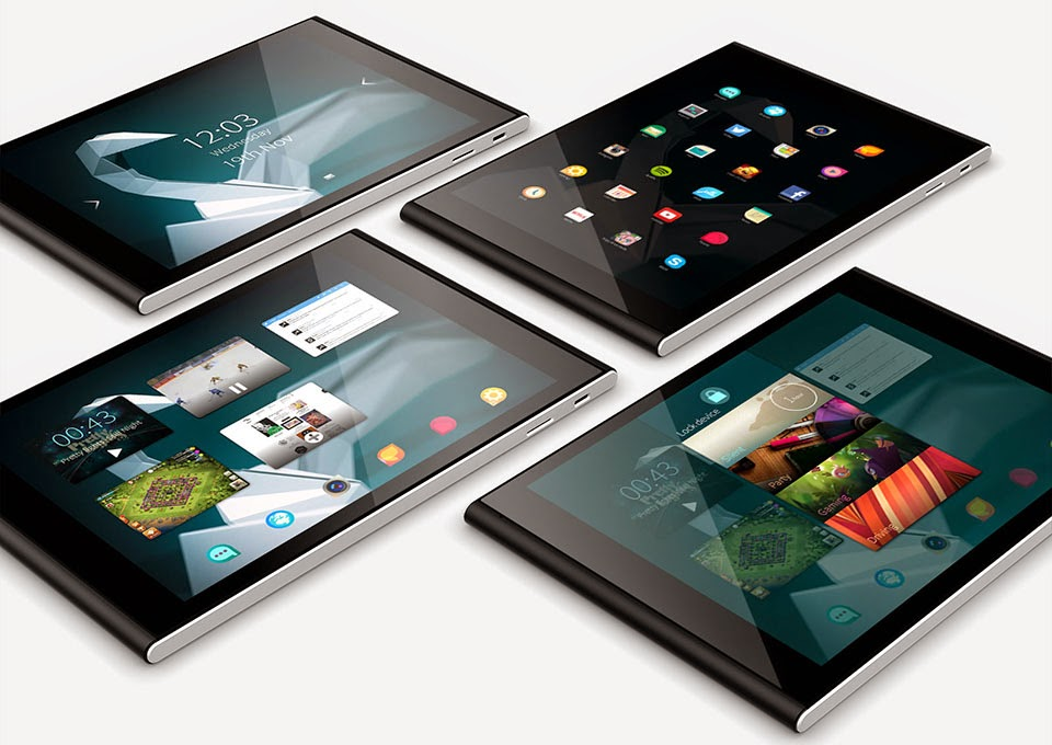 Jolla Sailfish OS Tablet