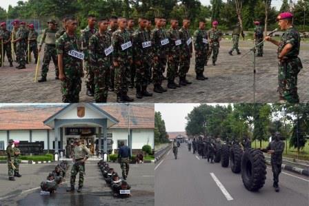 Komandan Batalyon Angkutan Bermotor-1 Marinir Membuka Orientasi Prajurit Muda Rata Yudha Yang Sejati