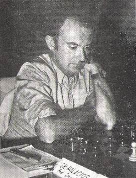 El ajedrecista Ernesto Palacios de la Prida
