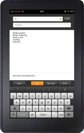 How to send books to kindle via email