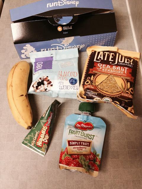 runDisney Fitness Box Gluten Free