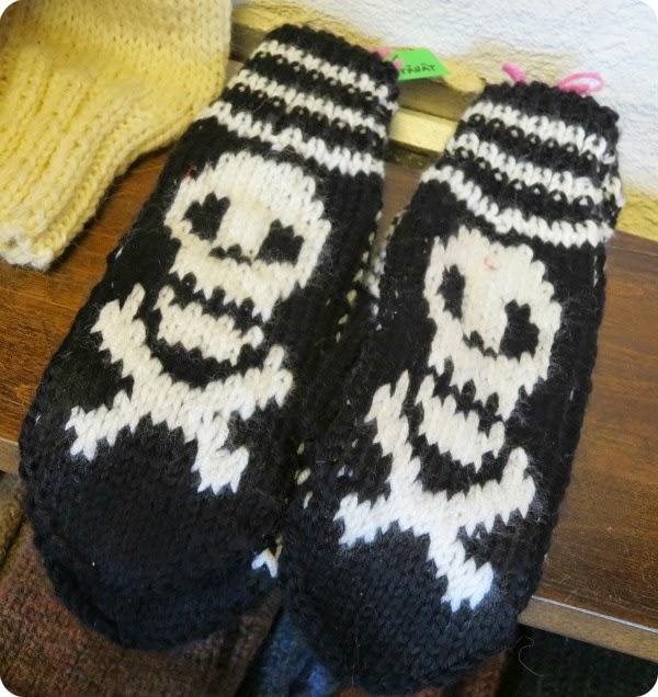 skull knitting neulonta neule