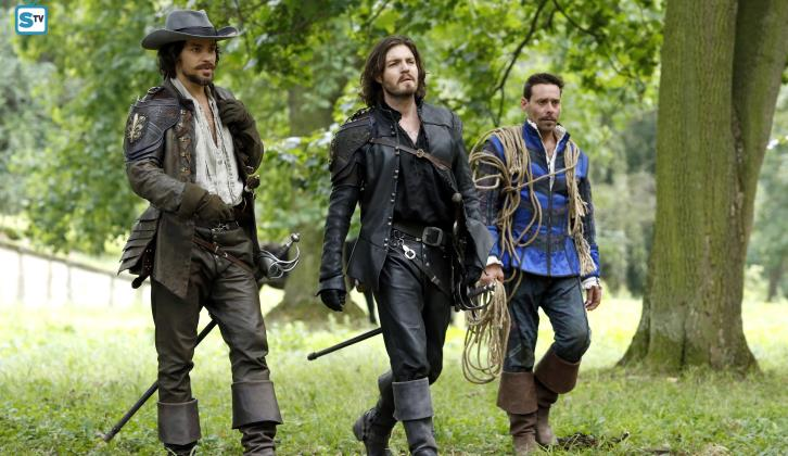 "The Musketeers - The Queen's Diamonds & To Play the King - Review: ""On the Wrong Side"""