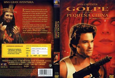 Cover, dvd. carátula: Golpe en la pequeña China | 1986
