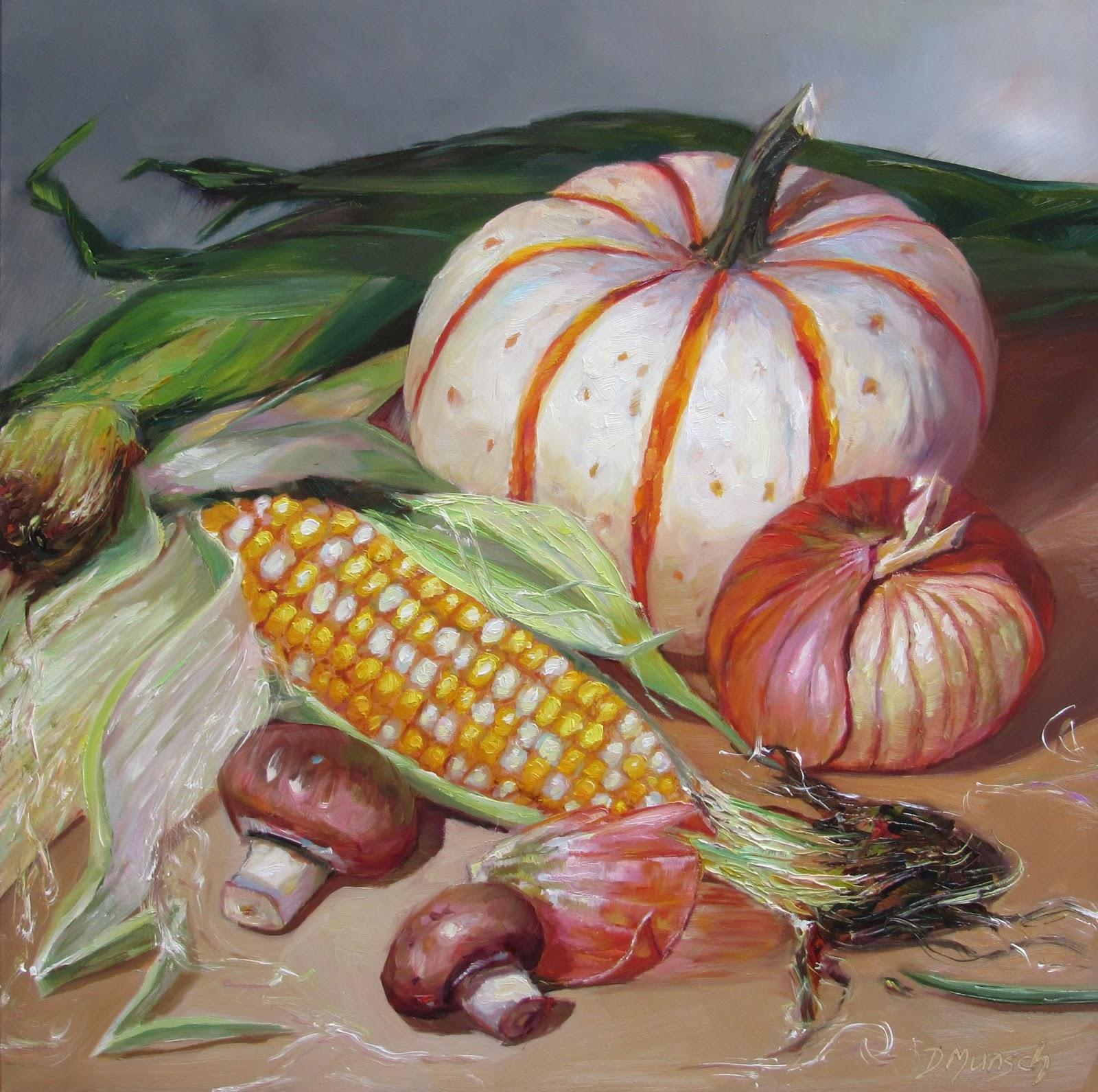 Corn Painting Art