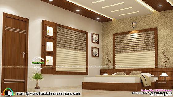 Master bedroom interior calicut