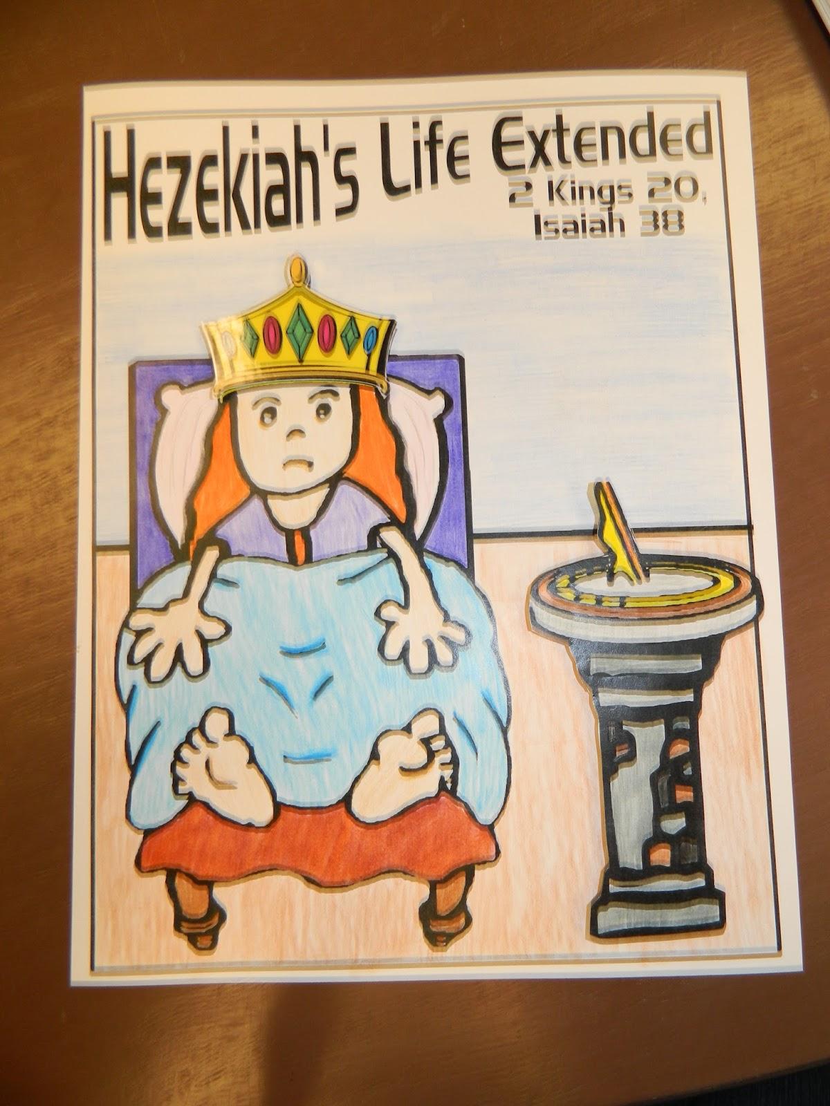 Bible Worksheet Hezekiah
