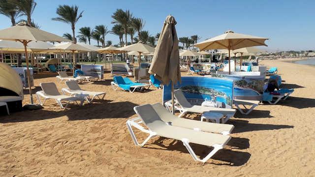 Rixos Seagate Sharm el Sheikh, Strand