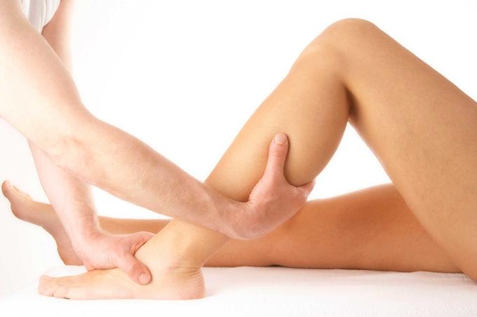 Drenagem Linfática nas pernas