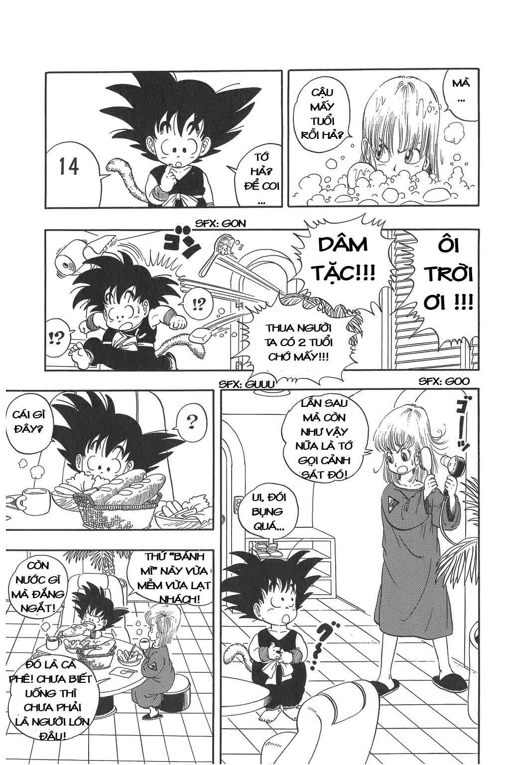 Dragon Ball chap 2 trang 9