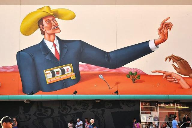 Street Art Mural By Interesni Kazki For The Rise Above Festival In Las Vegas, Nevada. 2