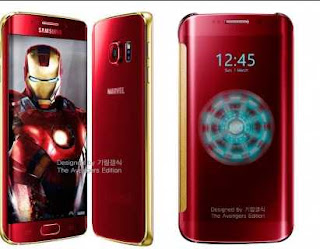 galaxy s6 iron man