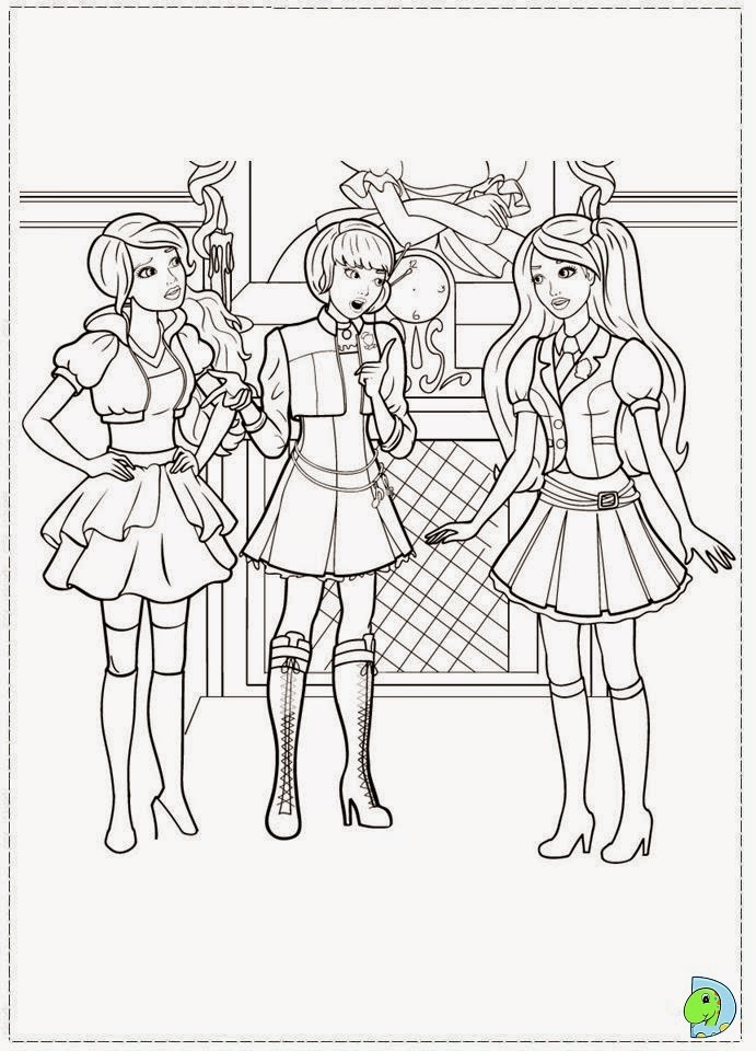 Dinokids Desenhos Para Colorir Desenhos Da Barbie Escola De