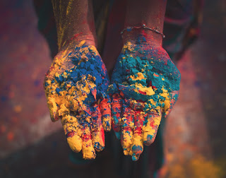 holi festival of colors india 2019 with greetings image for whatsapp