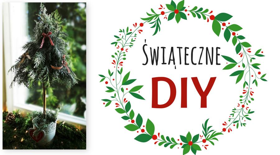 wnętrza, wystrój wnętrz, home decor, DIY, zrób to sam, tutorial, Boże Narodzenie, ozdoby świąteczne, mini choinka, choineczka, dekoracja okna, dekoracja świąteczna, Christmas, Christmas tree