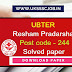 UBTER Resham Pradarshak Post code - 244 Solved paper PDF Download