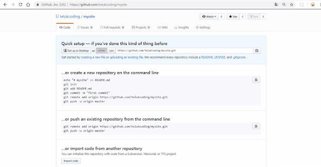 Cara Mudah Upload File di Github Menggunakan Terminal