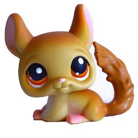 Littlest Pet Shop 3-pack Scenery Chinchilla (#340) Pet
