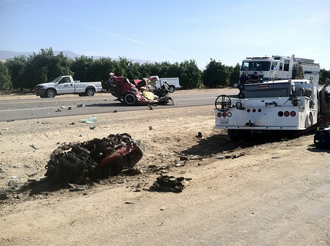 maricopa highway car truck crash benjamin grajeda kern county 166 honda fatality