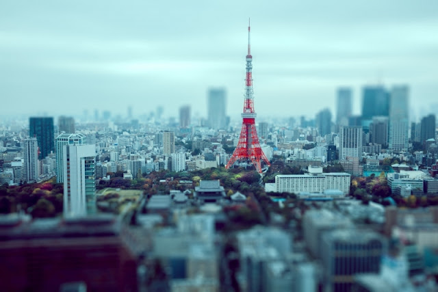 Tháp truyền hình tại thủ đô Tokyo, Nhật Bản