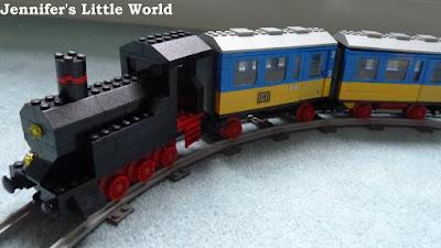 Vintage Lego train