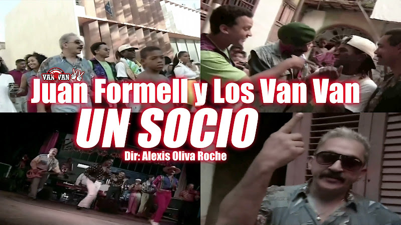 Juan Formell y Los Van Van - ¨Un Socio¨ - Videoclip - Dirección: Alexis Oliva Roche. Portal del Vídeo Clip Cubano