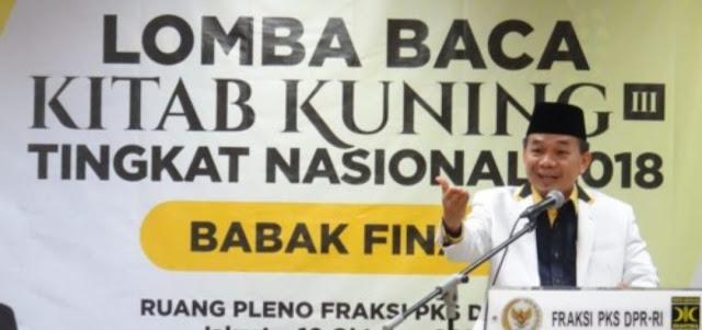 Idih, Politisi PKS Sebut Kiai dan Santri Selalu Terdepan Dalam Upaya Bela Negara