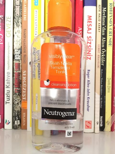 Neutrogena siyah nokta temizleyici tonik