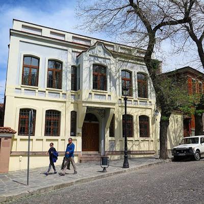 Calle en Plovdiv, Bulgaria