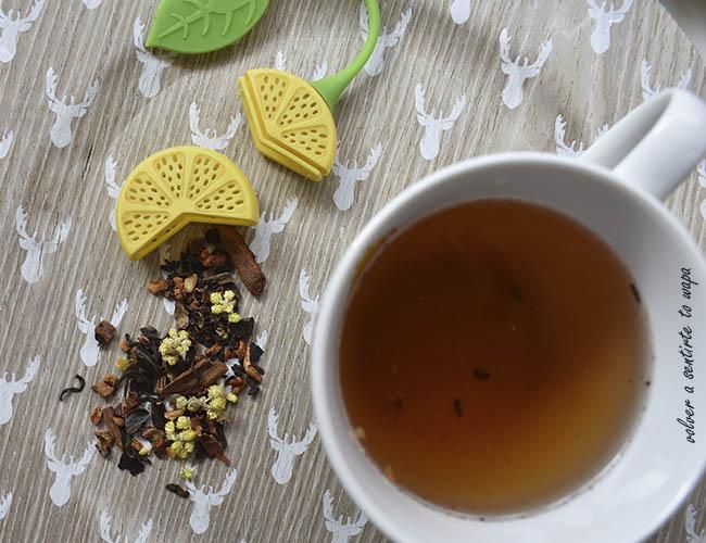 Té Rojo (Pu Erh) Praliné de Tea Shop
