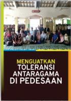 Menguatkan Toleransi Antaragama di Pedesaan
